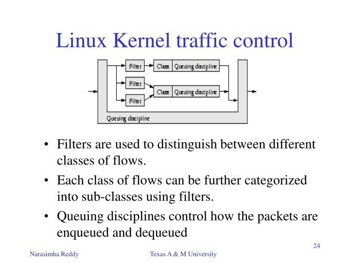 Linux Kernel traffic control