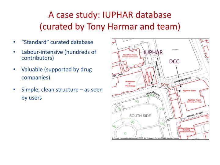 A case study: IUPHAR database