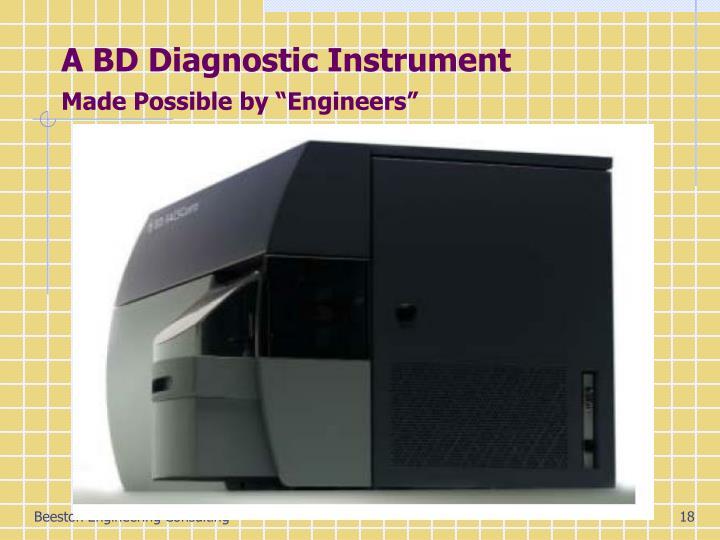 A BD Diagnostic Instrument