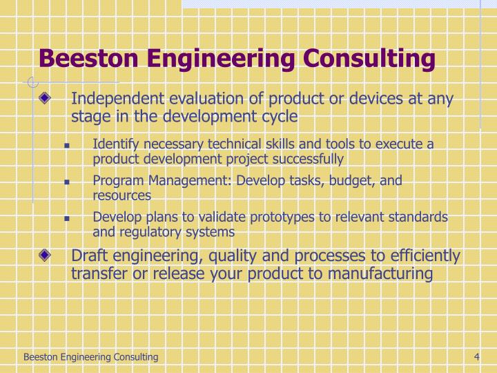 Beeston Engineering Consulting