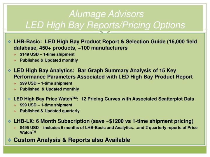 Alumage Advisors