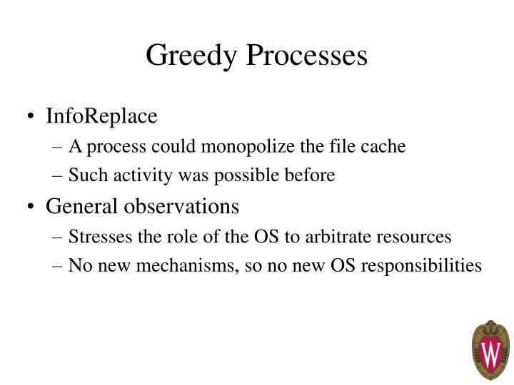 Greedy Processes