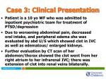 case 3 clinical presentation