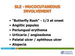 sle mucocutaneous involvement