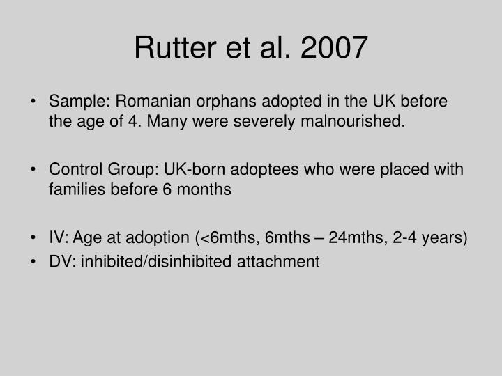 Rutter et al. 2007