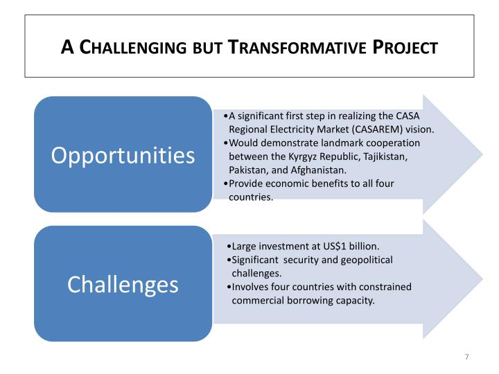 A Challenging but Transformative Project