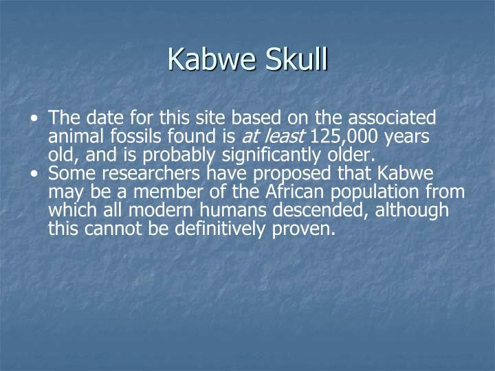 Kabwe Skull