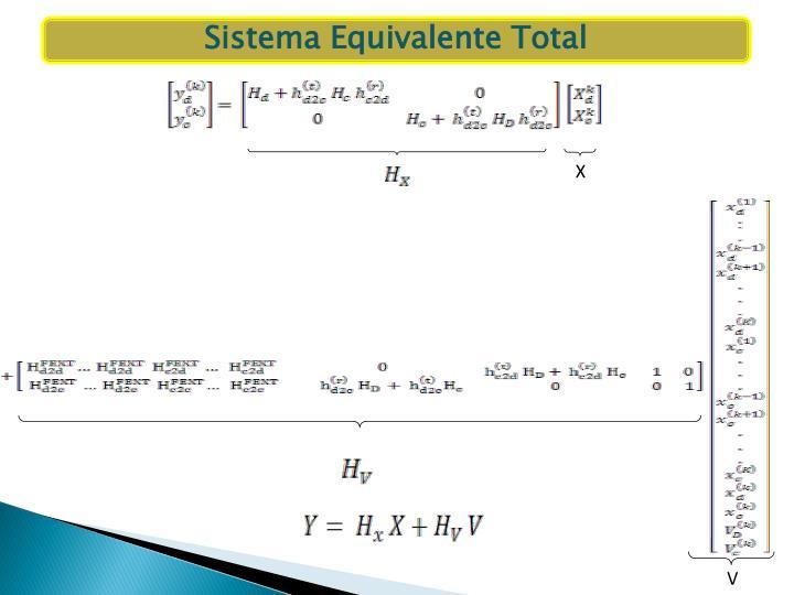 Sistema Equivalente Total