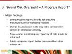 3 board risk oversight a progress report