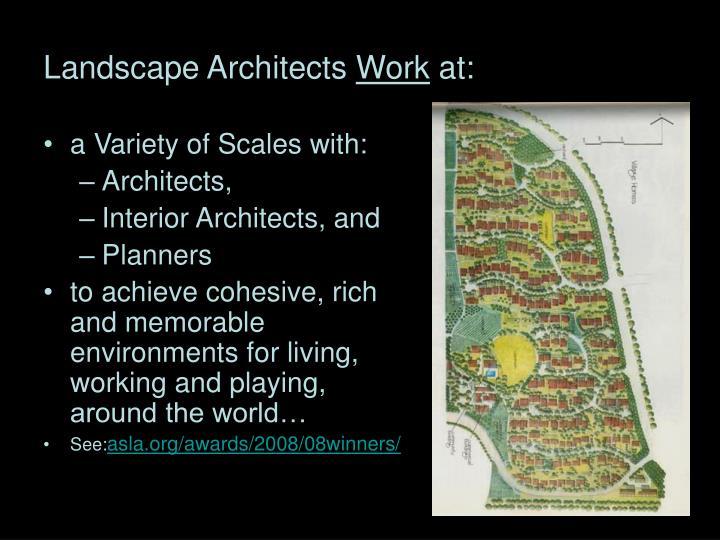Landscape Architects