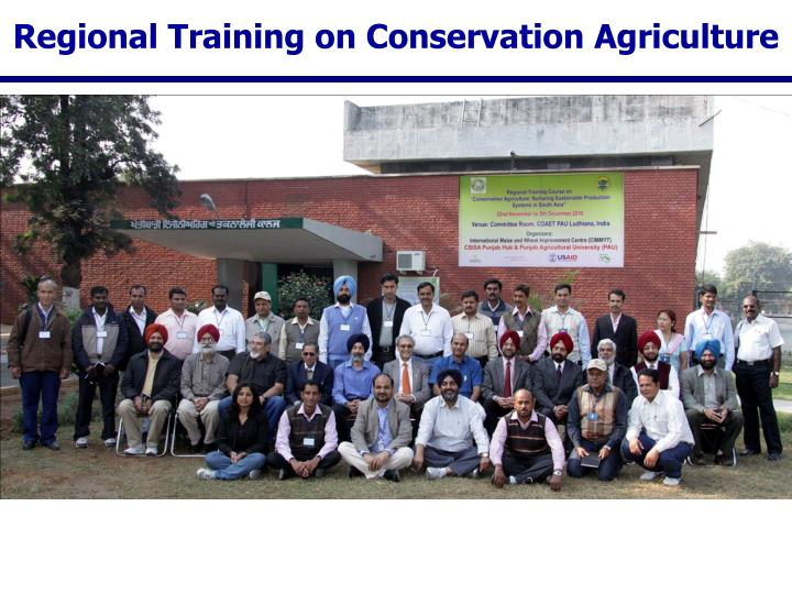 Regional Training on Conservation Agriculture