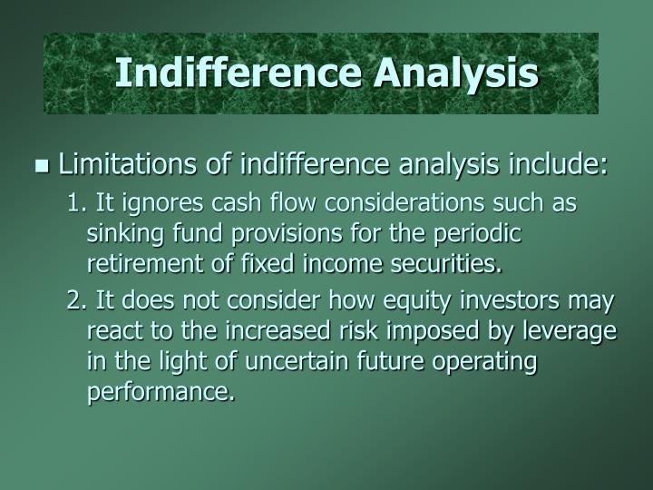 Indifference Analysis
