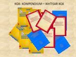 kgk kompendium ikhtisar kgk