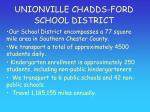 unionville chadds ford school district5