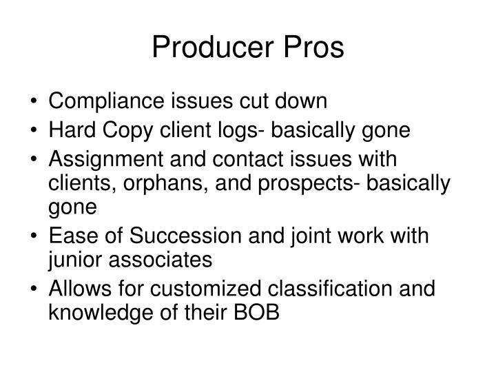Producer Pros