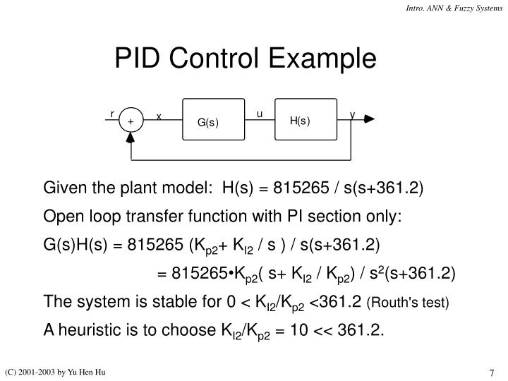 PID Control Example