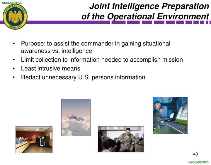 Joint Intelligence Preparation