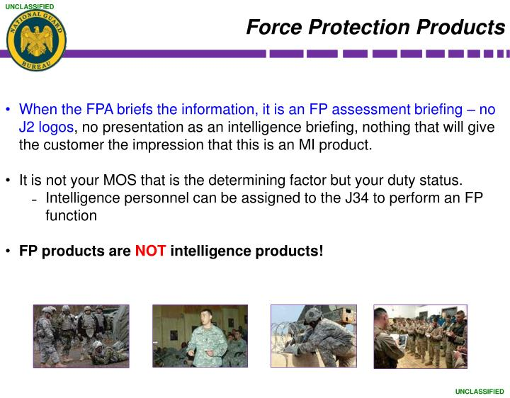 Force Protection Products