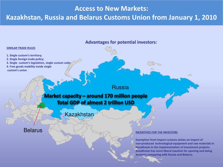 Access to New Markets: