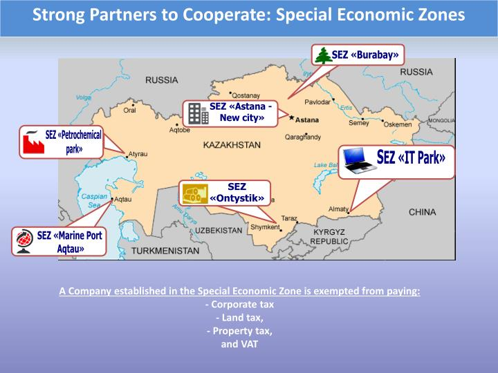 Strong Partners to Cooperate: Special Economic Zones