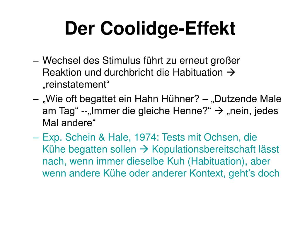 Coolidge-Effekt