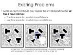 existing problems1