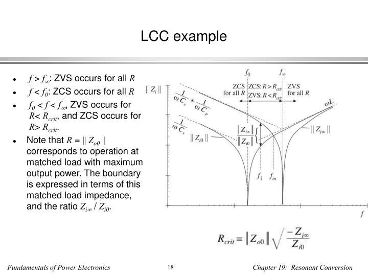 LCC example