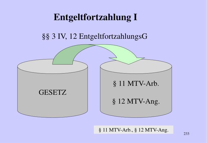 §§ 3 IV, 12 EntgeltfortzahlungsG
