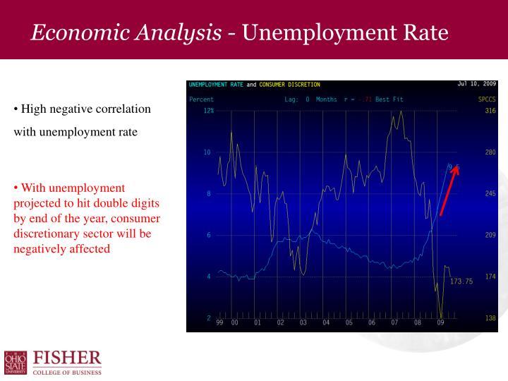 Economic Analysis -