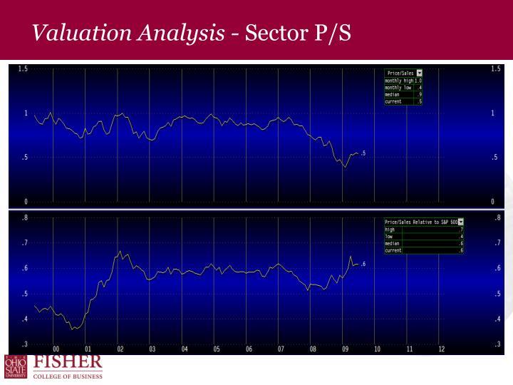 Valuation Analysis -
