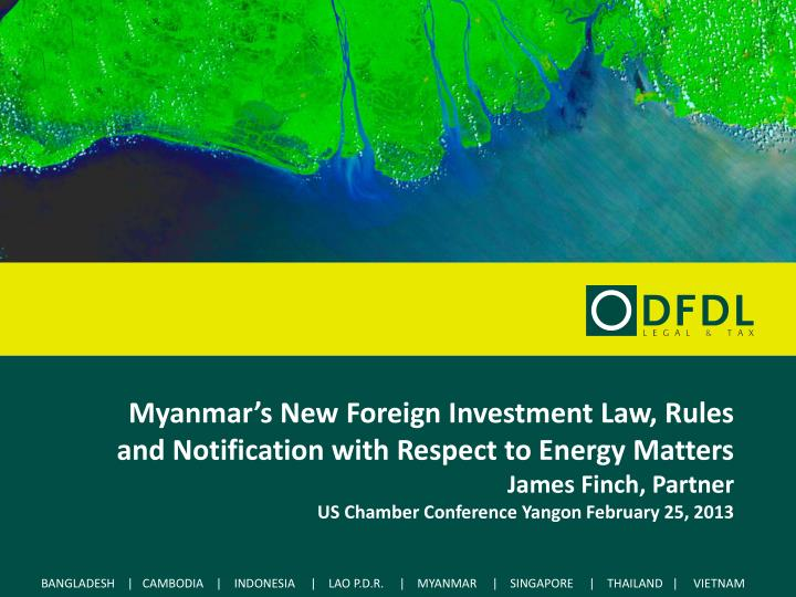 myanmar foreign direct investment policy In order to strengthen the promotion of inward fdi as the government, the ministry of foreign affairs established contact point for promotion of foreign direct investment in japan to support myanmar companies intending to invest in japan.