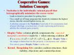 cooperative games solution concepts2