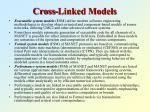 cross linked models