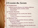 us resists the soviets