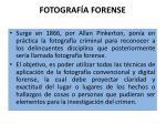 fotograf a forense