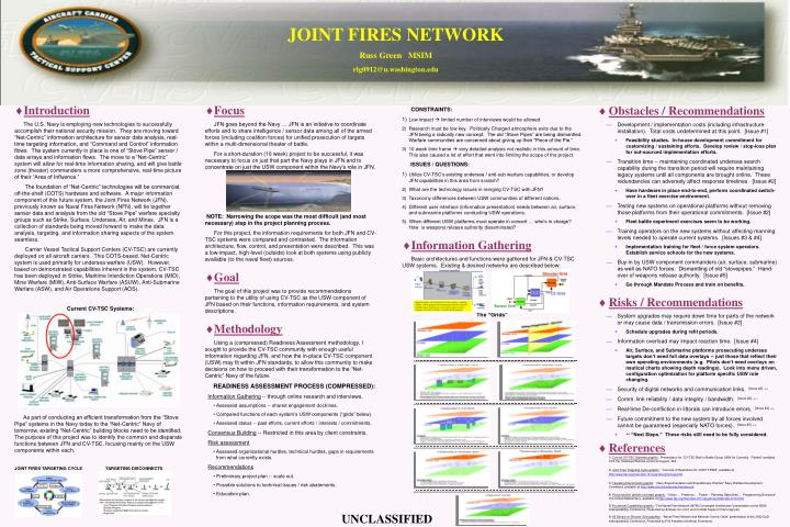 JOINT FIRES NETWORK