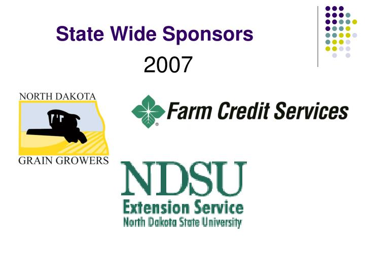 State Wide Sponsors