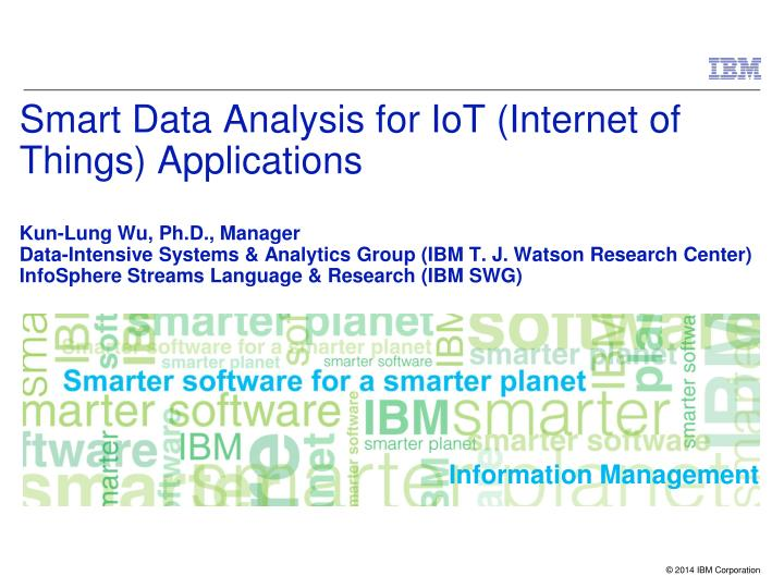 PPT - As IoT applications become more pervasive, there is a