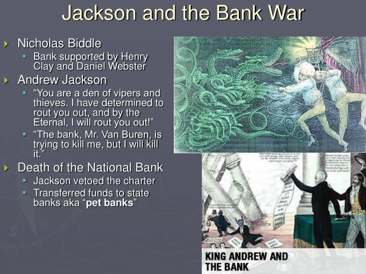 Jackson and the Bank War
