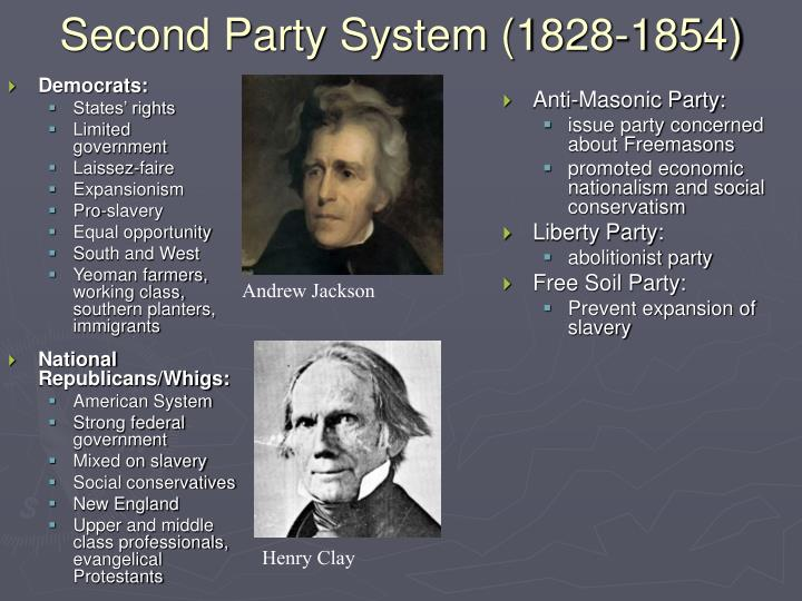 Second Party System (1828-1854)
