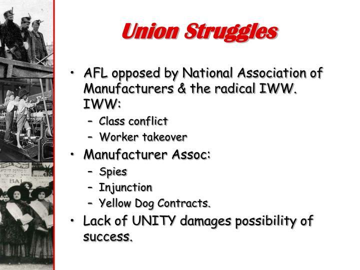 Union Struggles