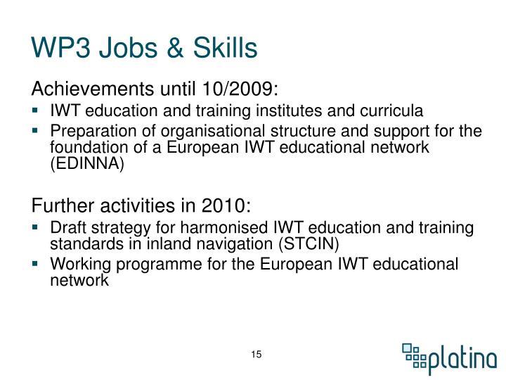 WP3 Jobs & Skills