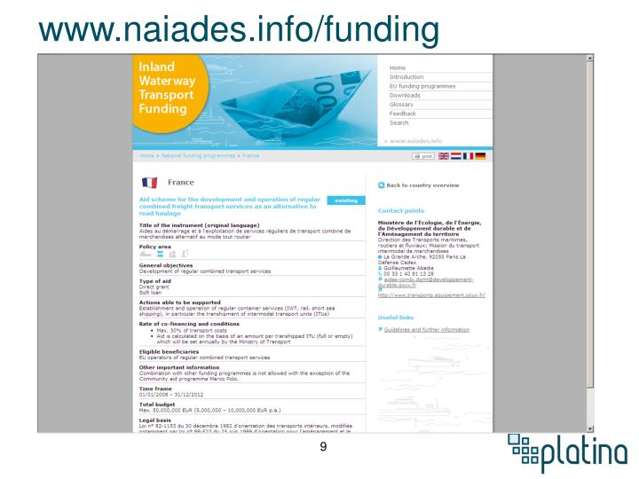 www.naiades.info/funding