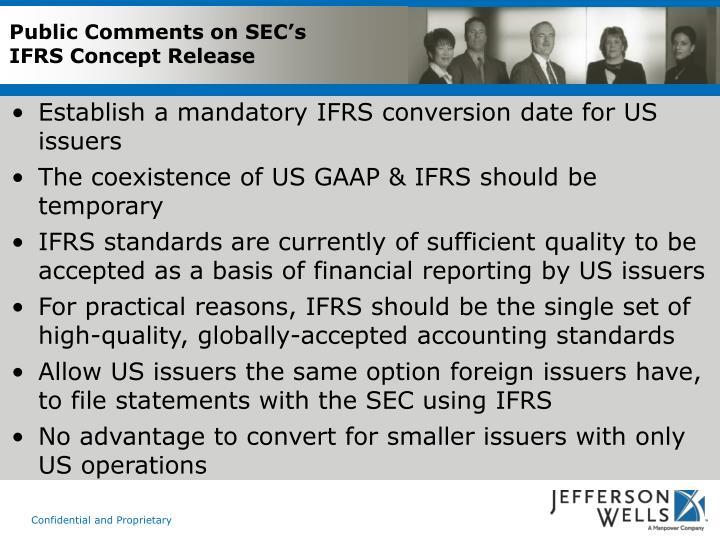 Public Comments on SEC's