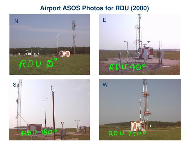Airport ASOS Photos for RDU (2000)