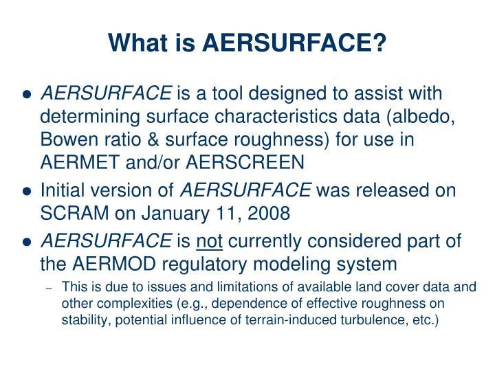 AERSURFACE