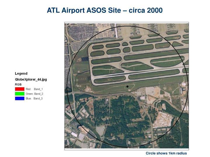 ATL Airport ASOS Site – circa 2000