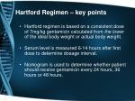 hartford regimen key points