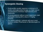 synergistic dosing1