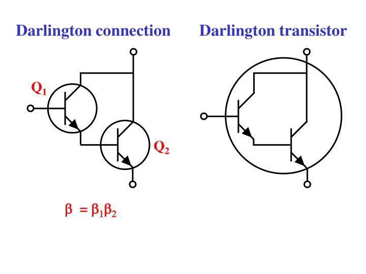 Darlington connection